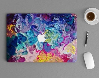 "Art of Oil Paint Macbook Laptop Notebook Sticker Skin vinyl Decal 721 11"", 13"", 15"" , 17"" inches"