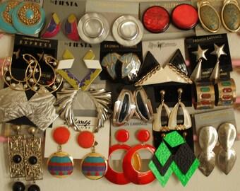 Vintage Costume Earrings