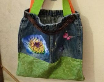 Bag recycling jeans