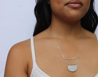 Half Circle Necklace
