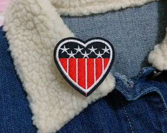 American flag Patch, Iron on Patch