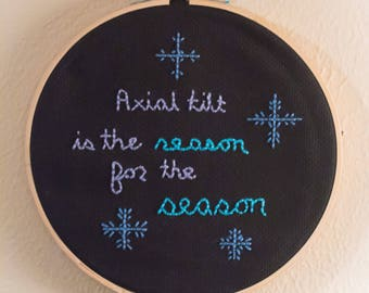 Reason for the Season Embroidery