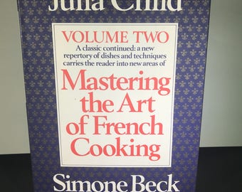 Mastering the Art of French Cooking Volume Two by Julia Child Simone Beck Free Shipping