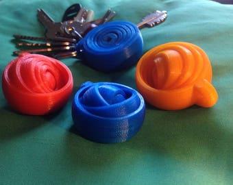 Spinner Keychain | Focus Toy | 3D Printed | Fidget Spinner | Fidget | Toy | Keychain | Spinner | Hand Fidget | Hand Spinner | Fidget Toy