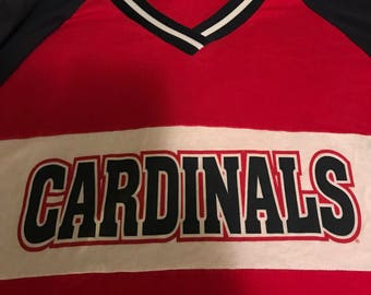 Vintage St. Louis Cardinals Baseball T-Shirt/ 1990's/ Made in the USA