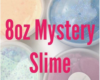 FREE SHIPPING 8oz Mystery Slime