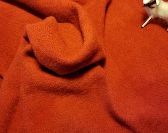 Rug Hooking Wool Paprika quilt penny applique