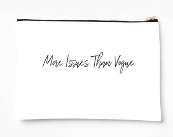 More issues than Vogue Cosmetic Case