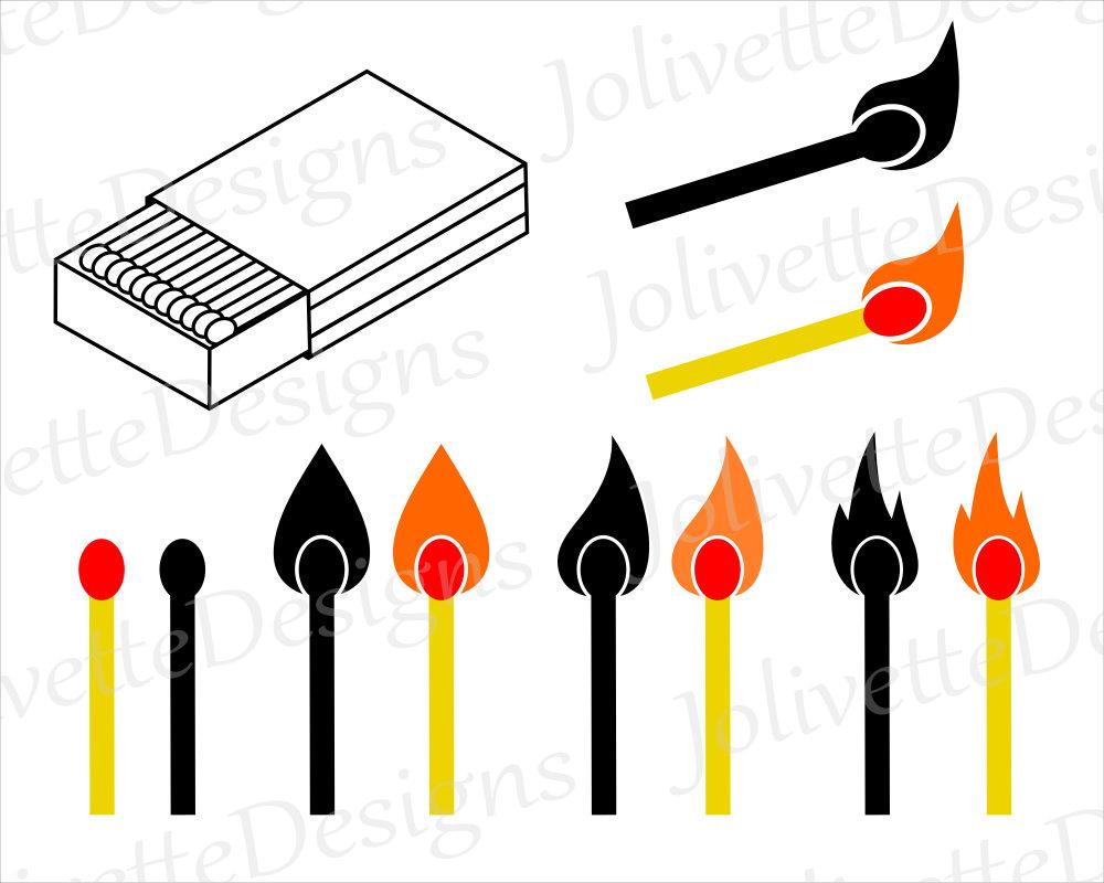Matches, Match Box, Flame, Fire, Stick, Clip Art, Clipart, Design ... for Matches Clip Art  110zmd