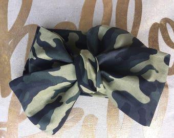 Green Military Headwraps