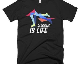 Running Is Life Short-Sleeve T-Shirt