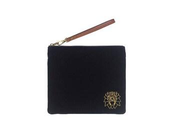 L'art de Velluters velvet wristlet bag, handbag, wristlet bag, bag
