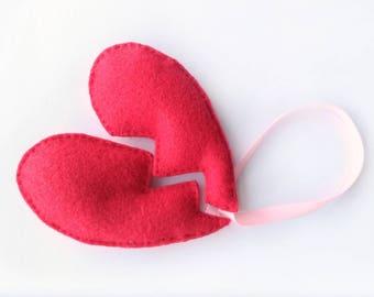 Broken Heart Cat Toys, Cat Lover Gift, Catnip Cat Toy, Cat Toys, Heart Cat Toy, Catnip Toy, Cat Teaser Toy, Catnip Teaser Toy