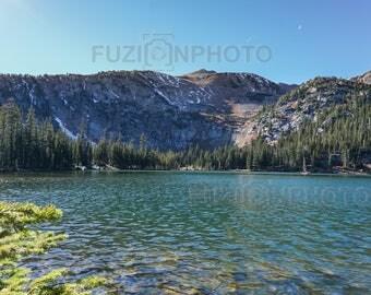 Mountain Photography Colorado Alpine Lake Wall Art