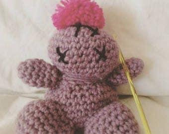 Hand crocheted Amigurumi
