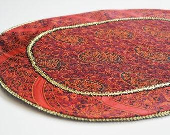 Handmade Tablecloth, handcraft tablecloth, Termeh tablecloth, Coffee tablecloth, Bedside tablecloth