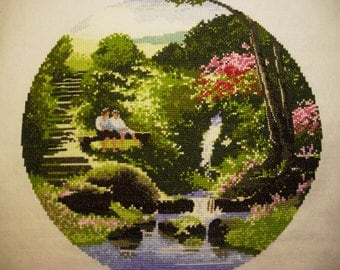 "The Cross Stitch Picture ""Two's Company"""