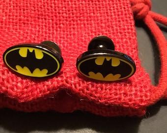DC Comic Batman Symbol Cufflinks