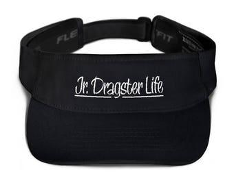 Jr. Dragster Life Logo Visor