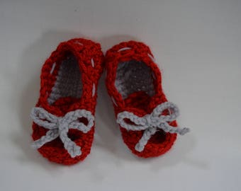 Baby boater booties