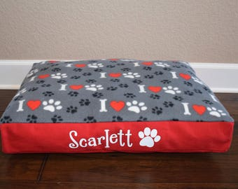 "26"" Personalized Pet Floor Bed"