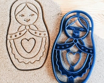 Matryoshka Nesting doll Cookie Cutter