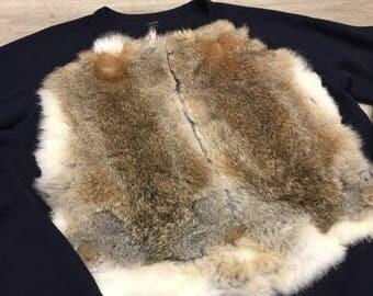 Rabbit fur jumper