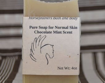 Pure Soap for Normal Skin - Chocolate Mint