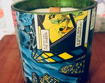 1991 Vintage Comics ( Now Comics)  Hand-Poured Soy Wax Candle
