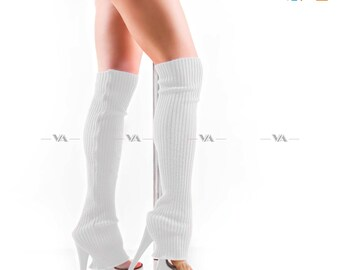 Knitted leg warmer | Gaiters | Pole dance socks | Ballet leg warmer | Gym leg warmer | Yoga socks | Dance socks | Dance leg warmer