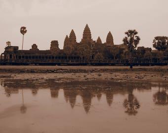 angkor wat Cambodia sunrise