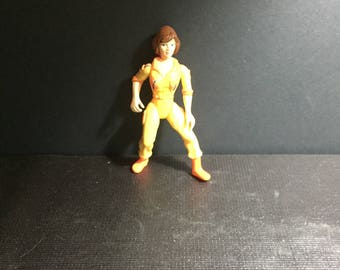 Vintage 1988 April O'Neil Teenage Mutant Ninja Turtles Action Figure Toy TMNT Rare Figure