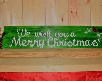 Large Christmas Sign