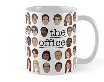 The Office Crew Mugs, Mugs with Sayings,Gift for Her,Gift for Him, The Office Mug, Gift Mugs, Boss Mugs, Cute Mugs, Officers Mugs, TV Show