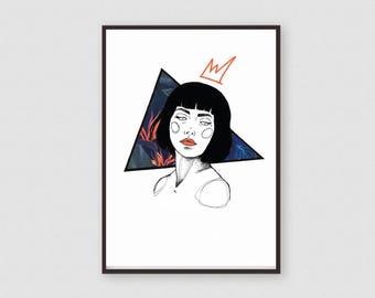 Poster | Art Printing | Artprint | Nike-Print A3