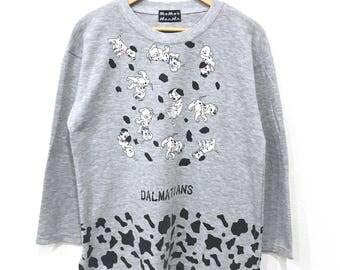 Rare! Vintage Dalmatians Sweatshirt