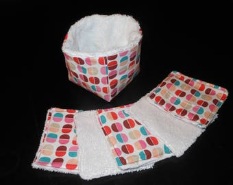 cleansing wipes + basket
