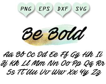 cursive letter fonts