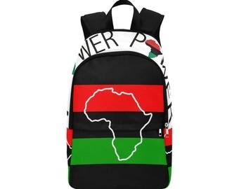 African Custom Fabric Backpack