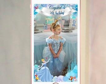 Cinderella geofilter