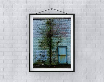 Print, Wall Art, 'Tree-A-Like', Giclée Print, Architecture, Street, New, Abstract