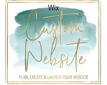Wix Custom Website