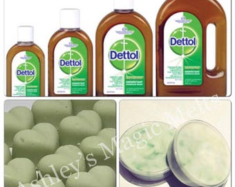 3 dettol disinfectant soy wax melts, Antiseptic wax melts, scented gifts, designer dupe melts, strong long lasting melts, cheap wax melts