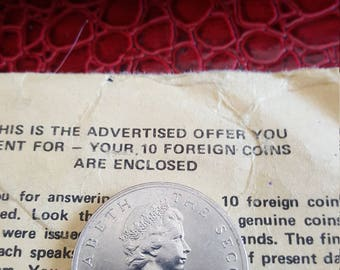 Isle of man 10 Pence 1976 UNC