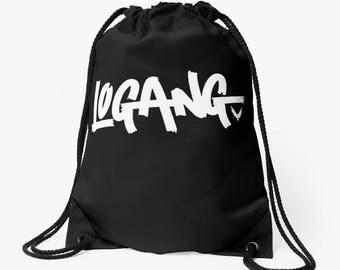 Logan Paul  Logang Drawstring Bag