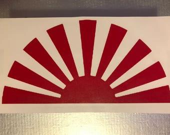 Rising Sun Sticker / Decal