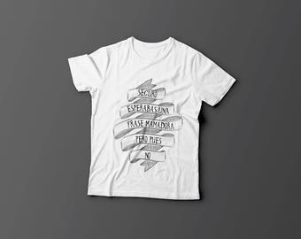 Customizable phrase T-shirt