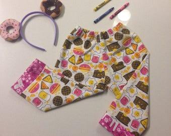 Breakfast & Unicorns Flannel Baby Pants