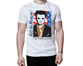 Culture Club Boy George Let's Be Modern T-Shirt
