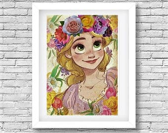 Bohemian Repunzel Digital Download